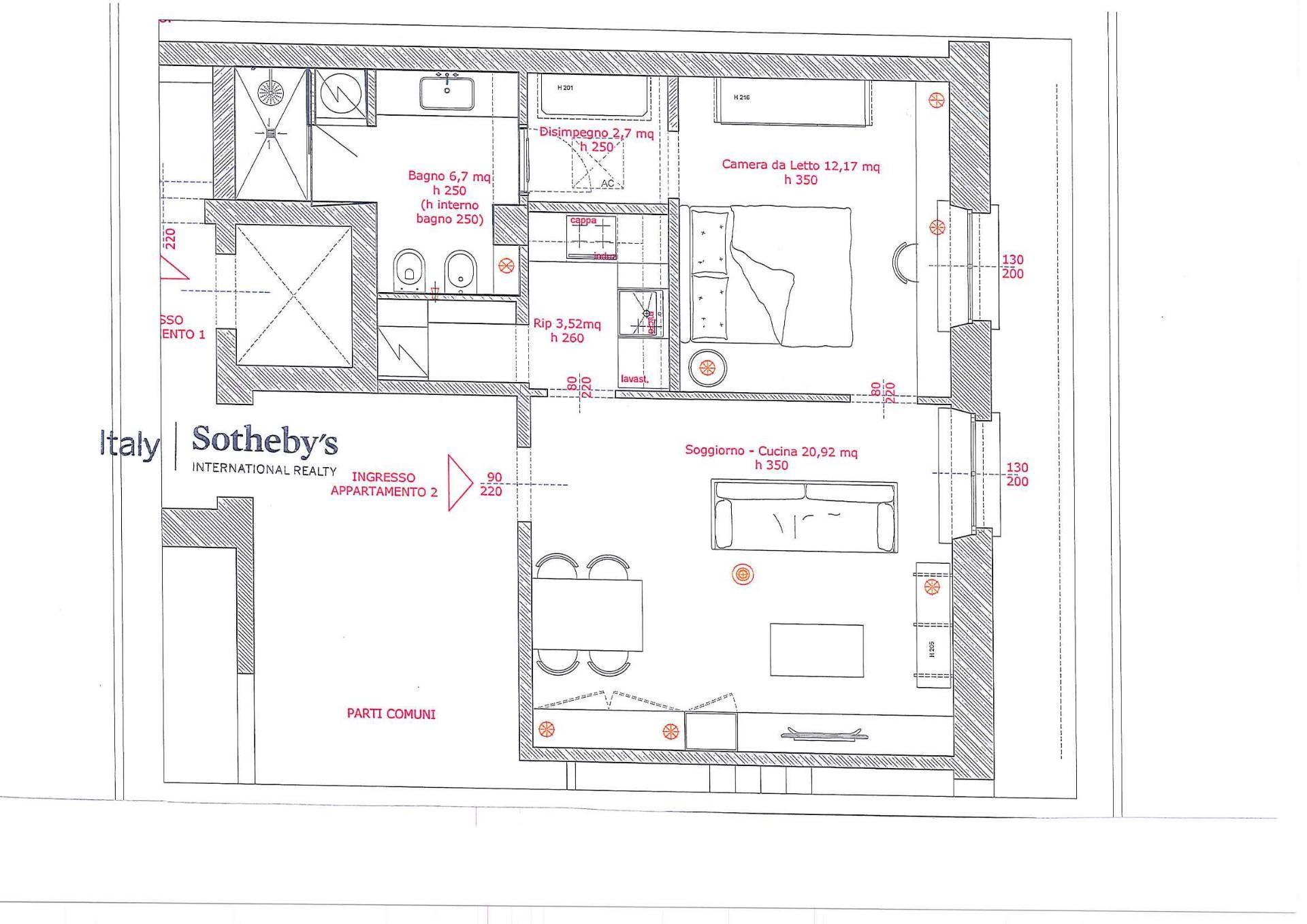 Appartamento in Affitto a Milano: 2 locali, 73 mq - Foto 19
