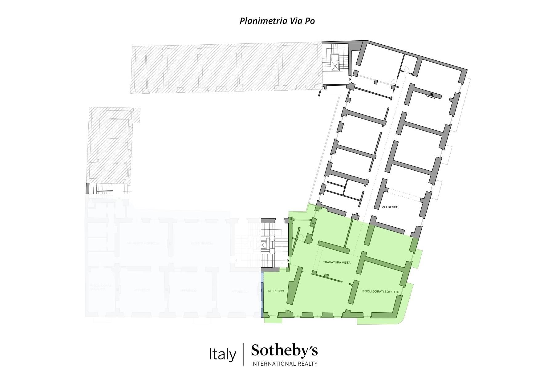 Ufficio-studio in Affitto a Torino: 5 locali, 280 mq - Foto 16