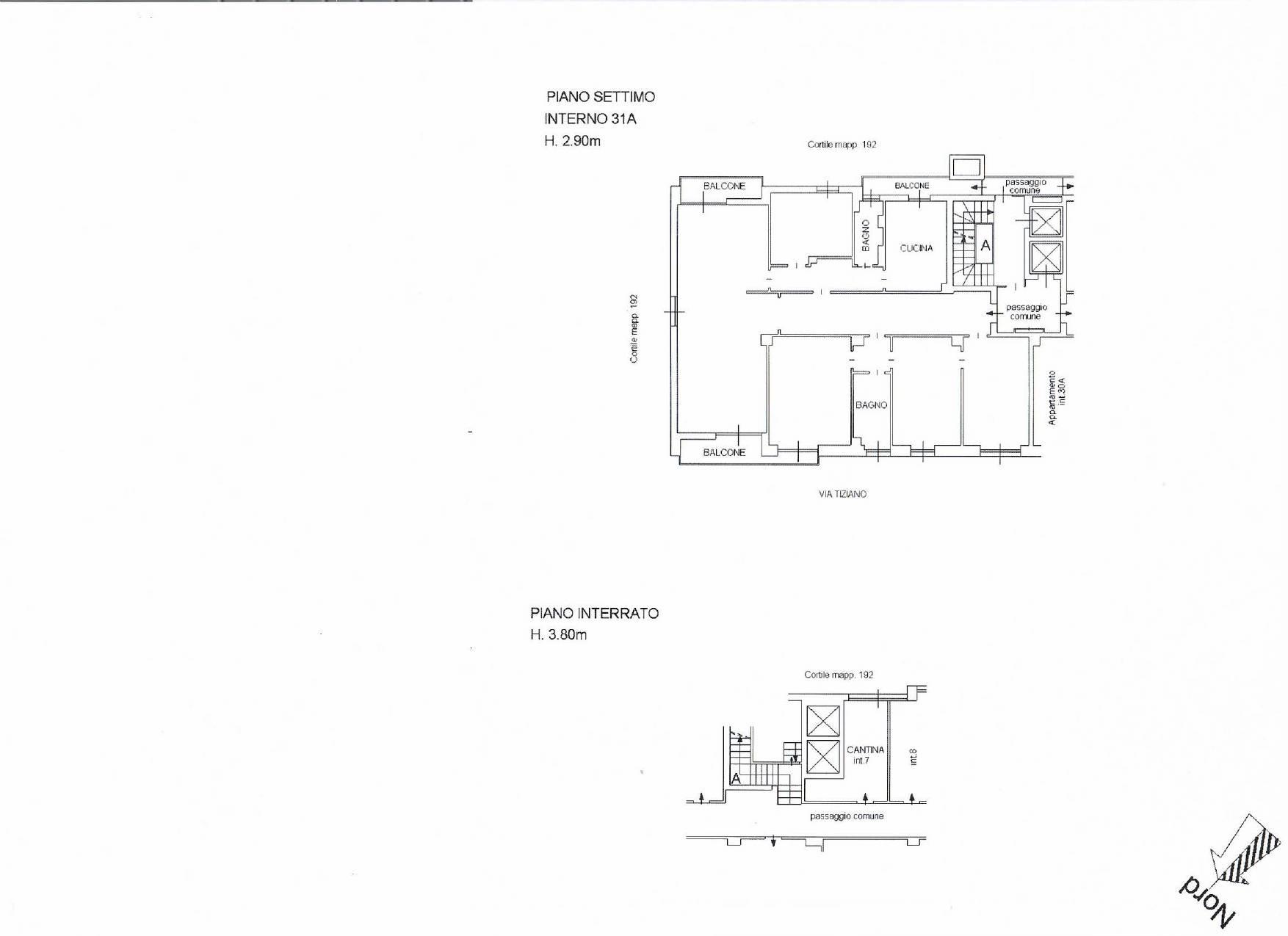 Appartamento in Affitto a Milano: 4 locali, 186 mq - Foto 29