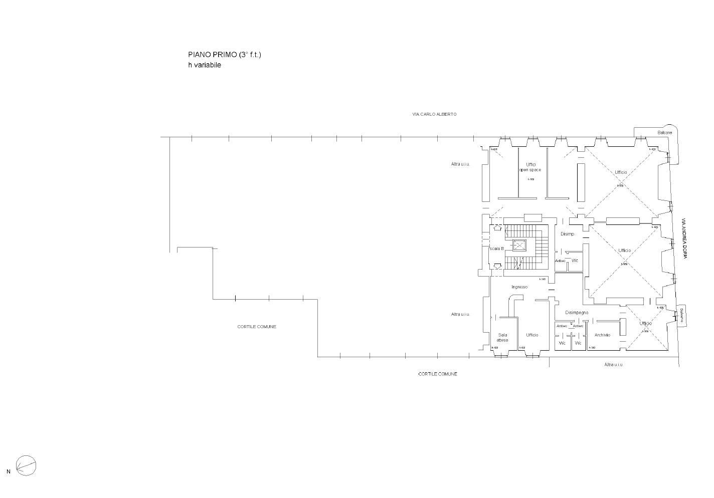 Appartamento in Vendita a Torino: 5 locali, 373 mq - Foto 21