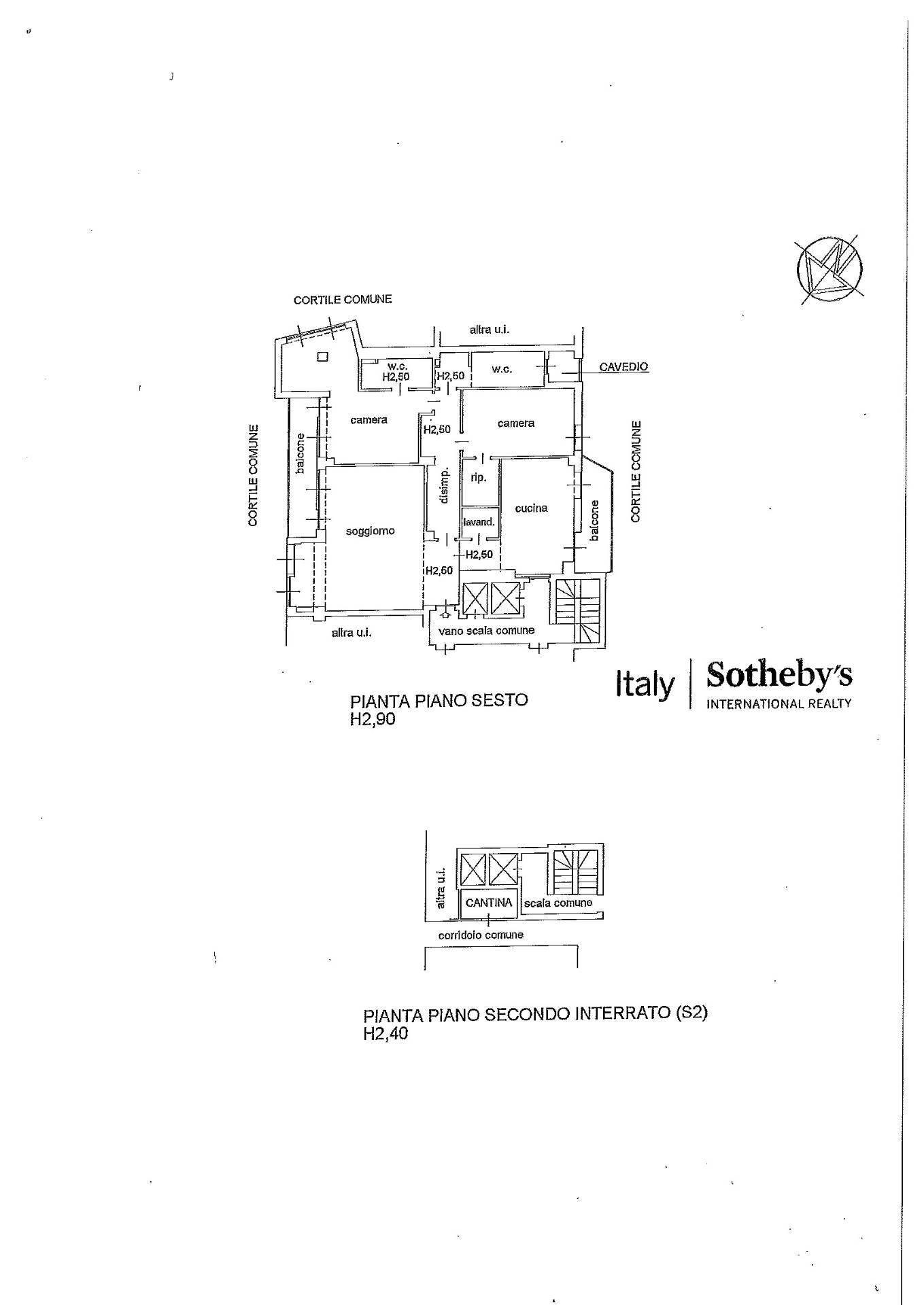 Appartamento in Affitto a Milano: 3 locali, 170 mq - Foto 24