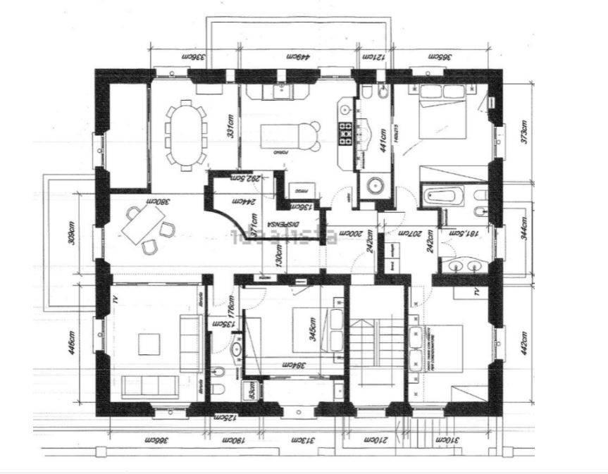 Appartamento in Vendita a San Vincenzo: 5 locali, 214 mq - Foto 29