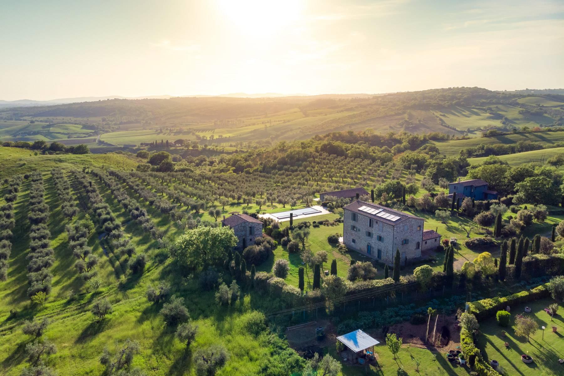 Rustico in Vendita a Magliano In Toscana: 5 locali, 1044 mq - Foto 2