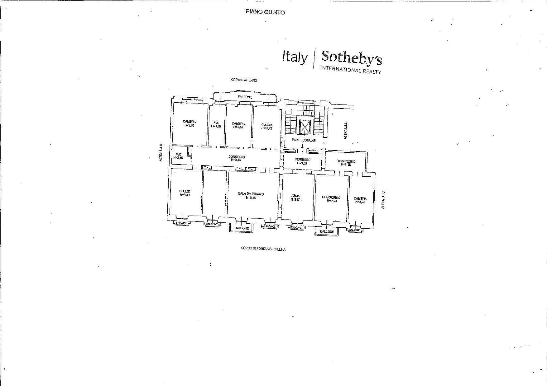 Appartamento in Vendita a Milano: 5 locali, 285 mq - Foto 22