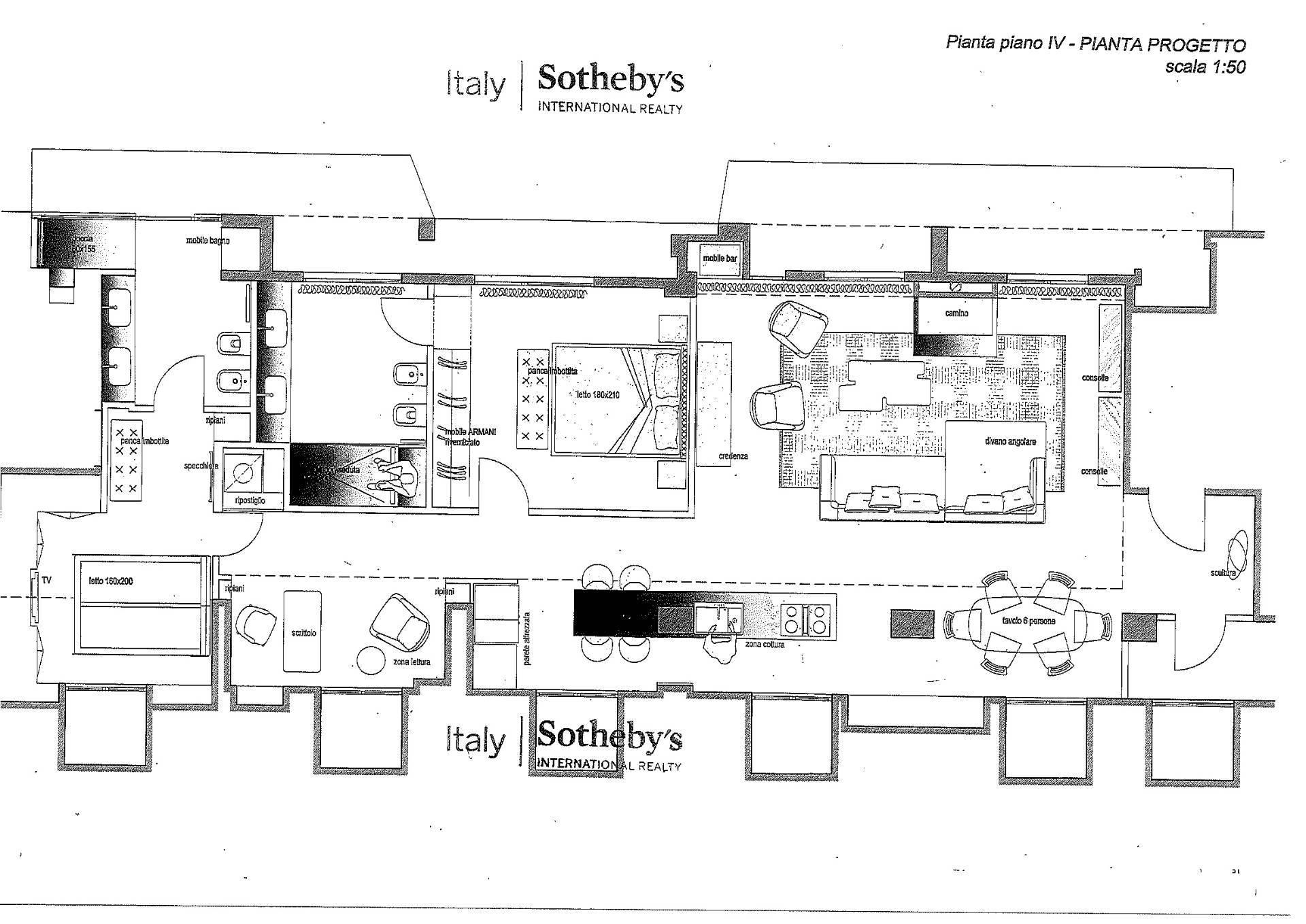 Appartamento in Vendita a Milano: 3 locali, 160 mq - Foto 23