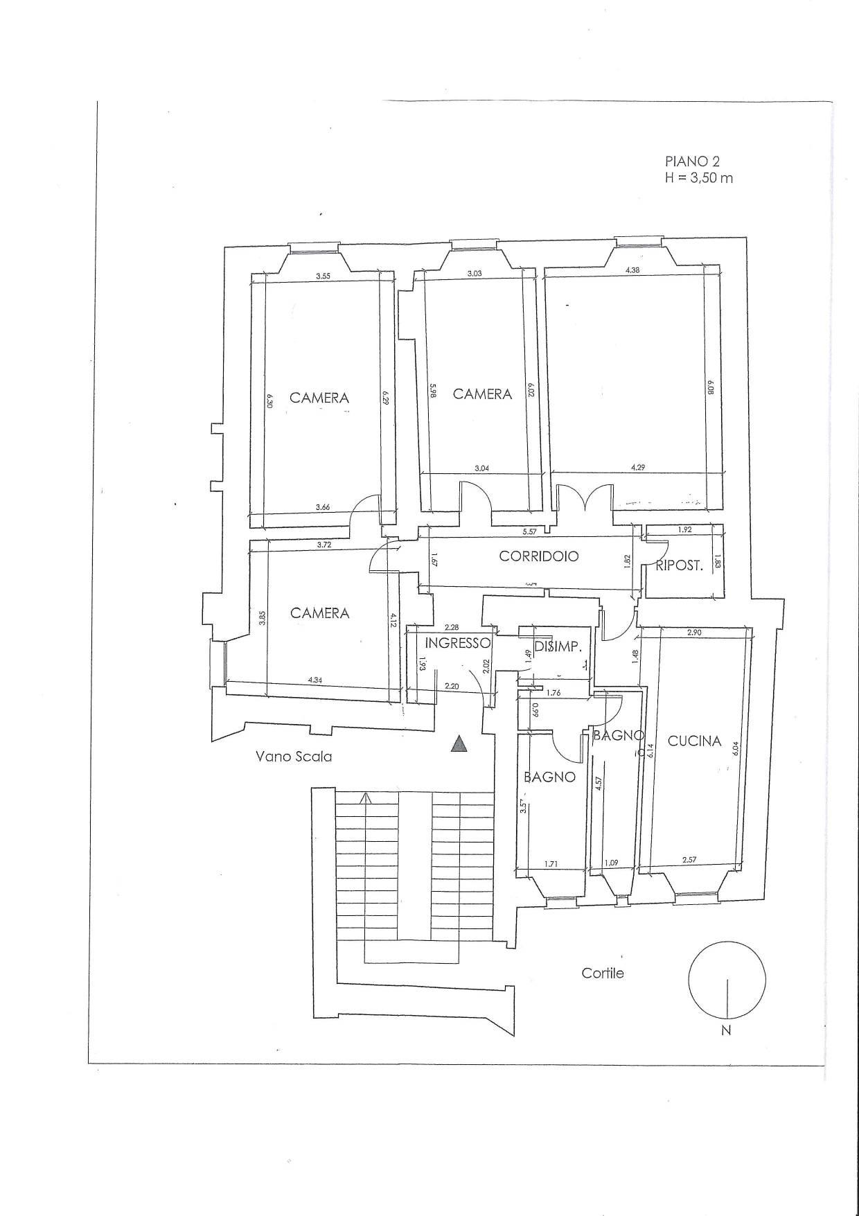 Appartamento in Affitto a Roma: 4 locali, 180 mq - Foto 21