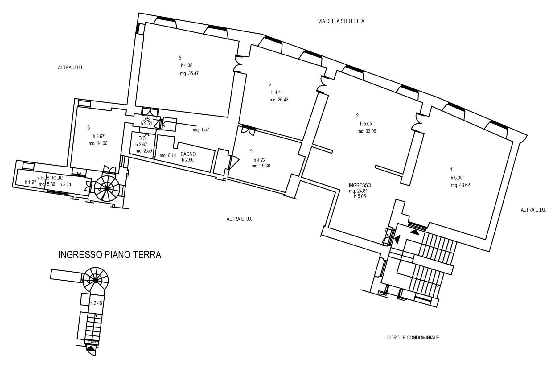 Ufficio-studio in Affitto a Roma: 5 locali, 276 mq - Foto 26