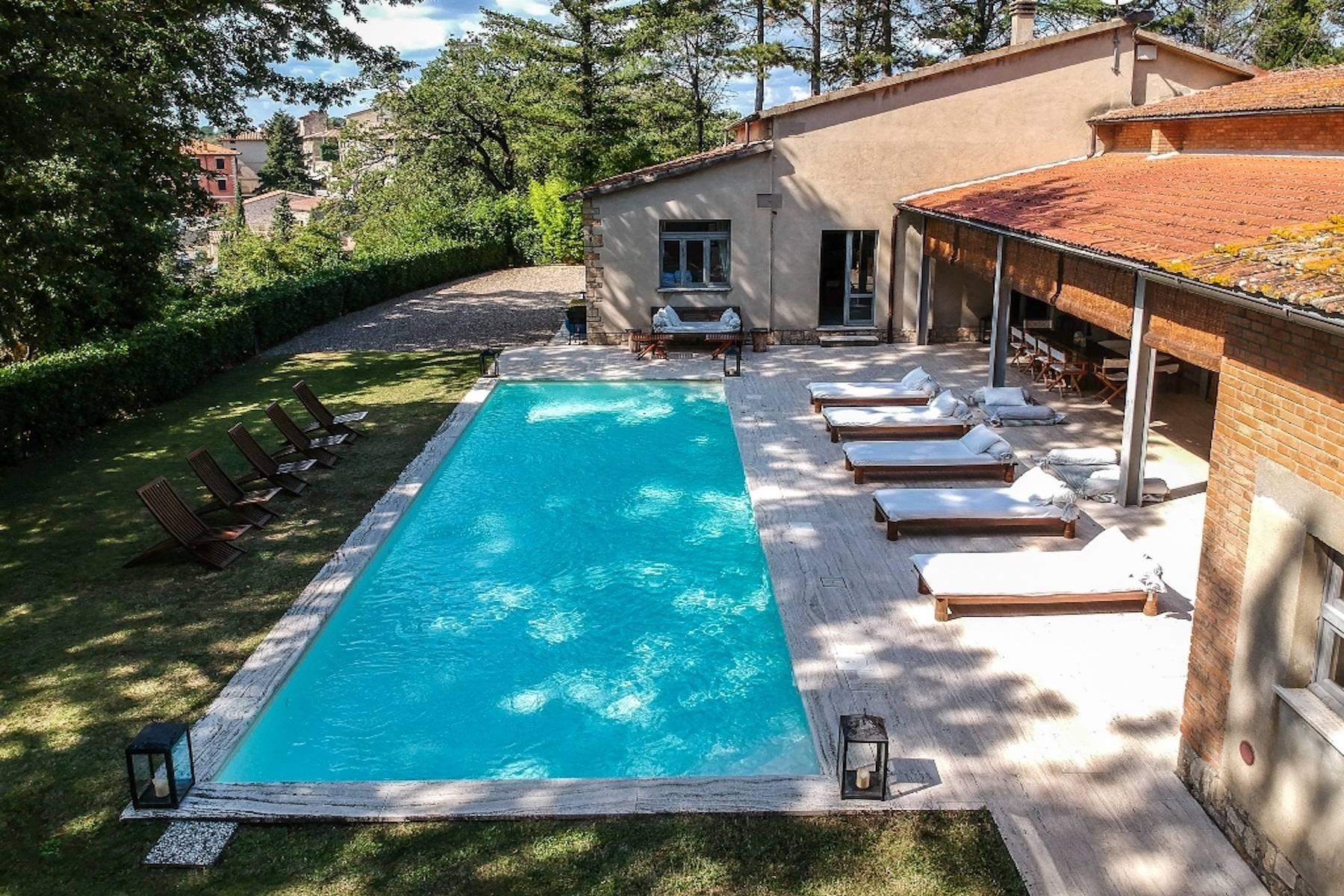 Villa in Vendita a San Casciano Dei Bagni: 5 locali, 600 mq - Foto 3