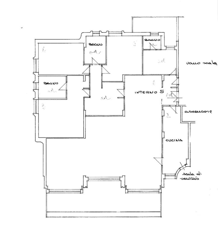 Appartamento in Affitto a Roma: 5 locali, 250 mq - Foto 23