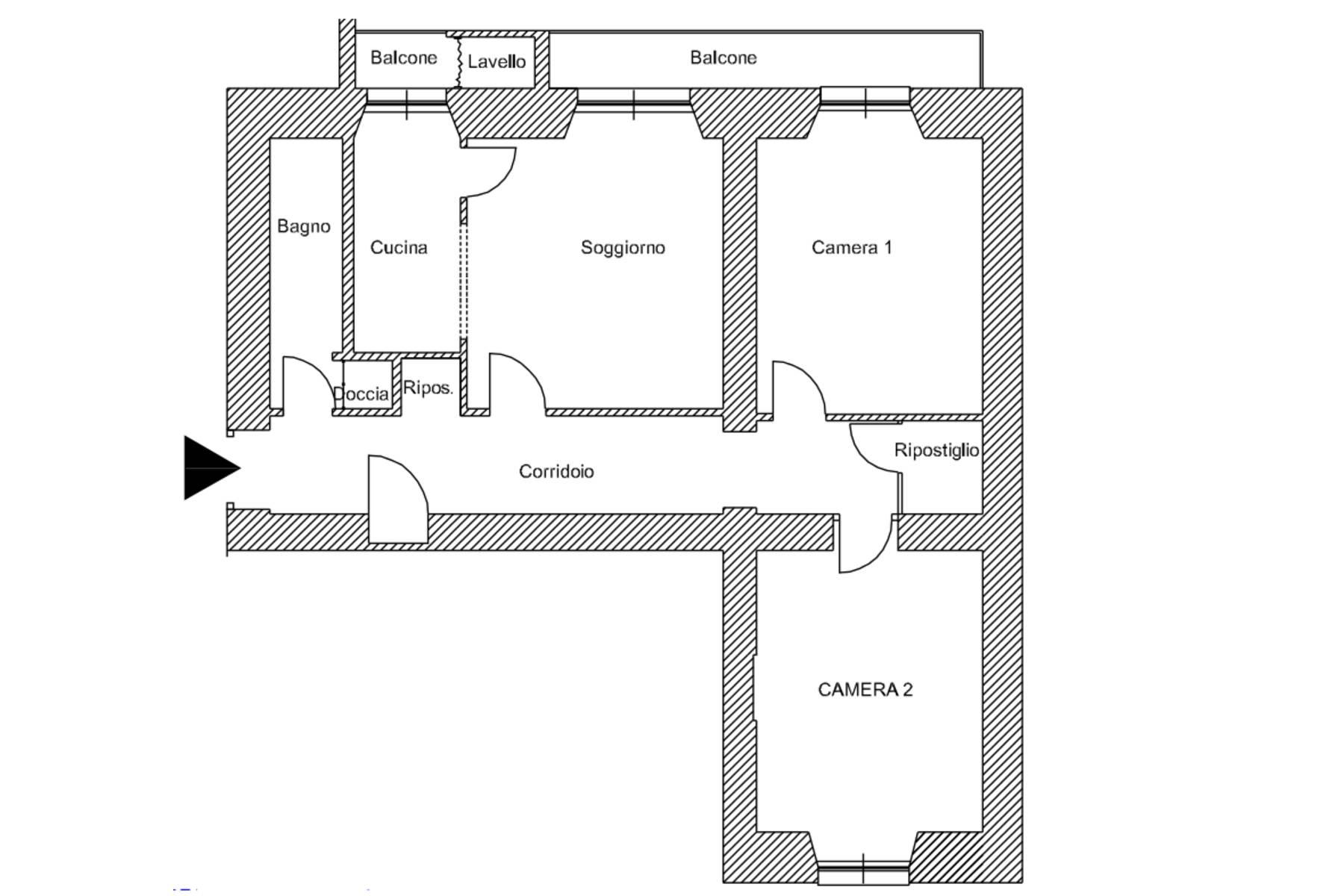 Appartamento in Vendita a Roma: 4 locali, 93 mq - Foto 22