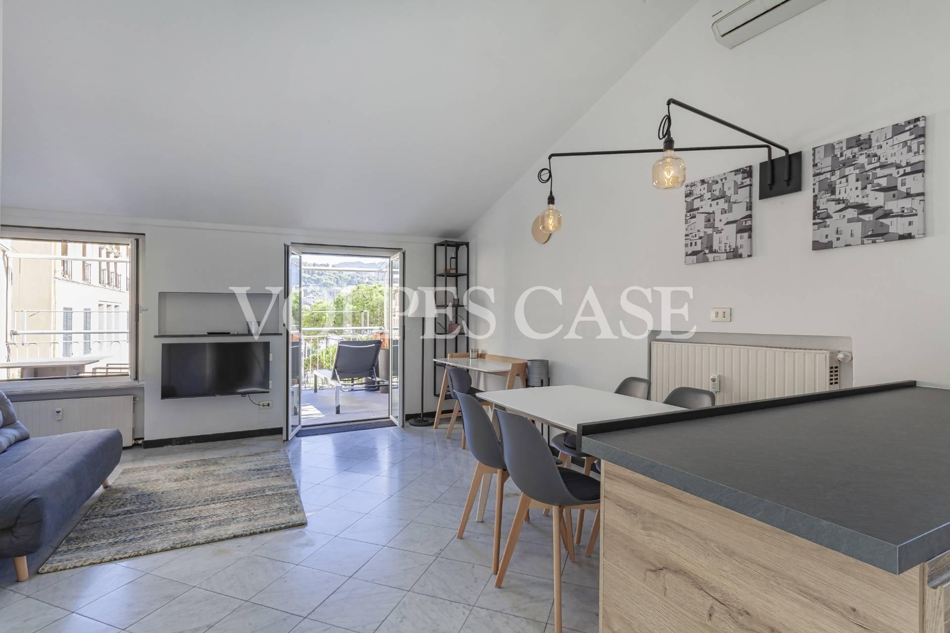 Attico / Mansarda in affitto a Santa Margherita Ligure, 3 locali, prezzo € 2.250   CambioCasa.it