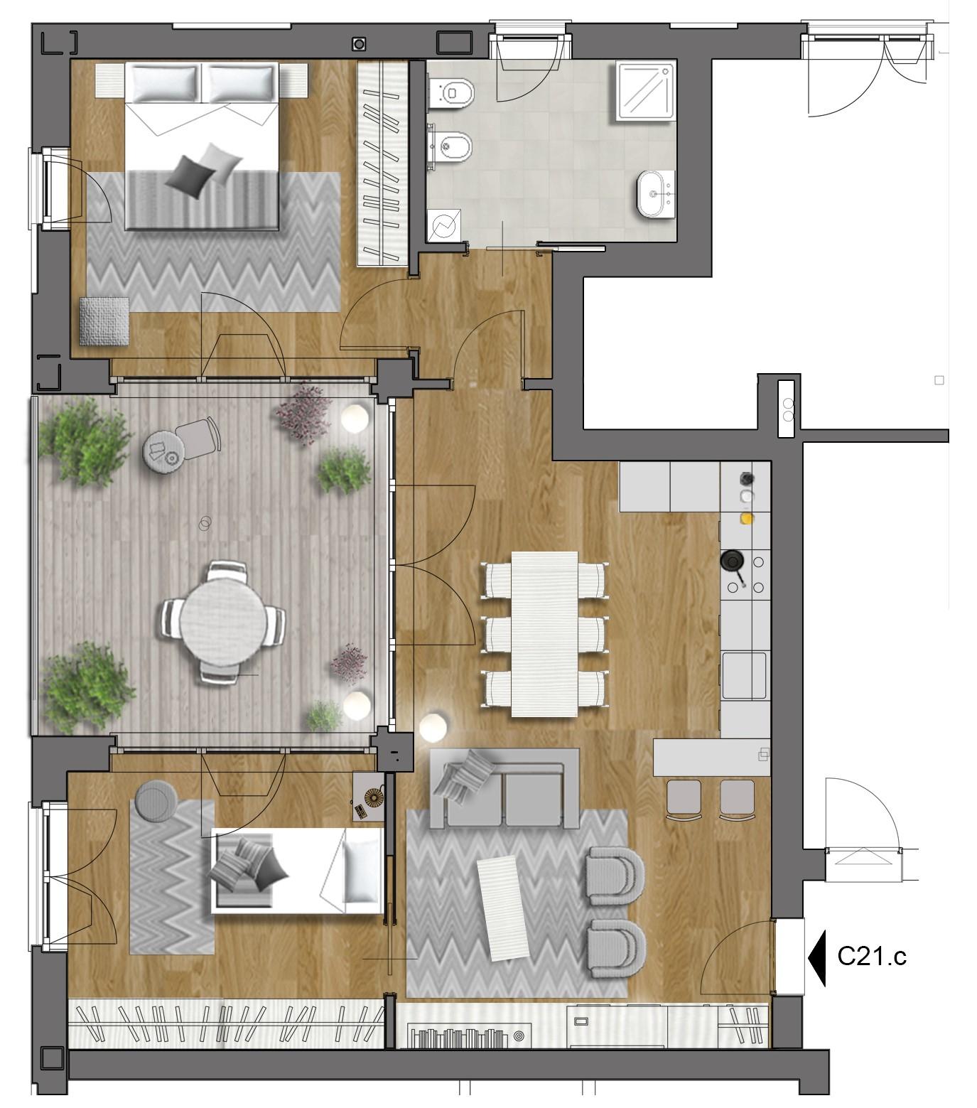 Appartamento in vendita a Trieste, 3 locali, zona Località: Zonedipregio, prezzo € 335.000 | PortaleAgenzieImmobiliari.it