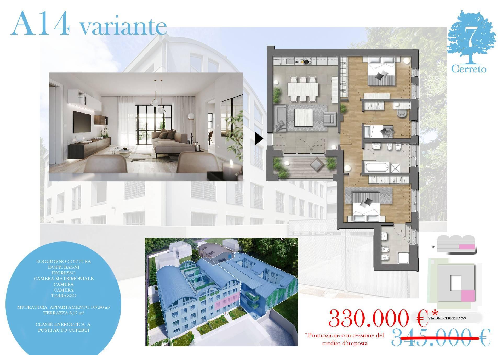 Appartamento in vendita a Trieste, 3 locali, zona Località: Zonedipregio, prezzo € 330.000 | CambioCasa.it