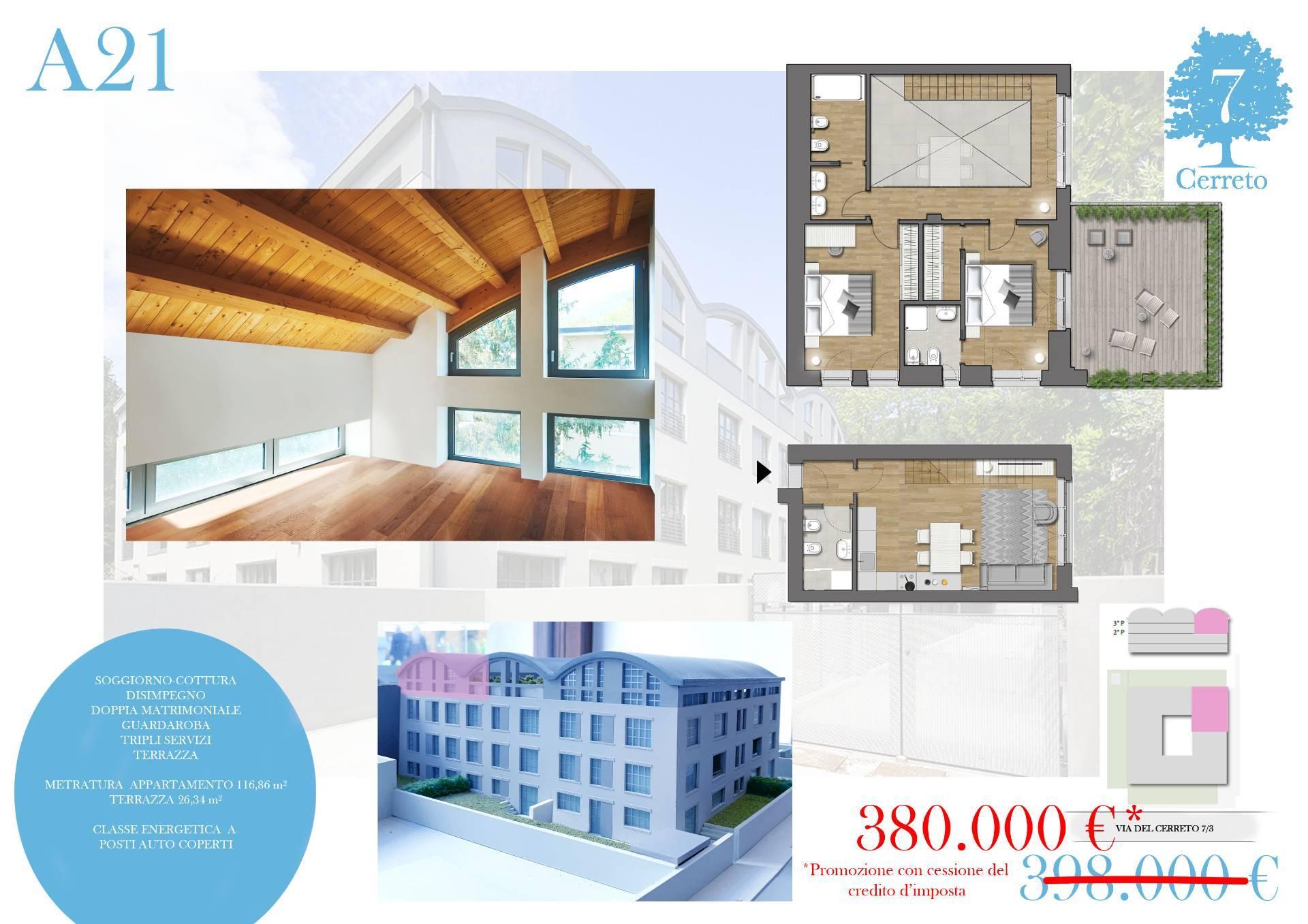 Appartamento in vendita a Trieste, 3 locali, zona Località: Zonedipregio, prezzo € 380.000 | CambioCasa.it